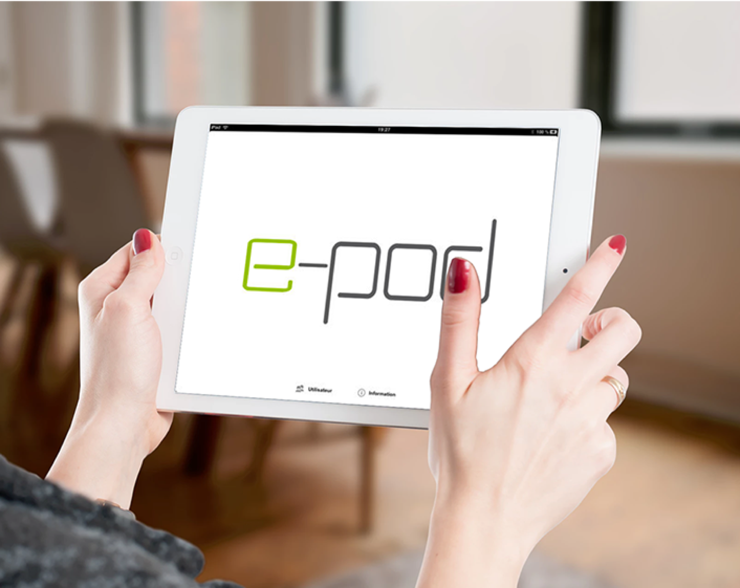 e-pod - Application iPad